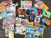 Lot of assorted Science, Math and History educational resource books  Cranston, 02921
