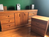 Wood dresser and side table Vaughan, L6A 4S8