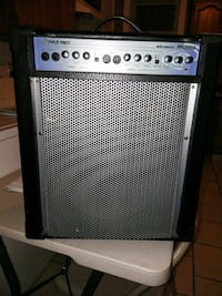 black and gray Crate guitar amplifier 29 km