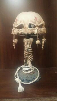Skull FingerBone Lamp- Rare Howell, 48843
