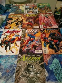 DC Action comic book collection Mission, 78572