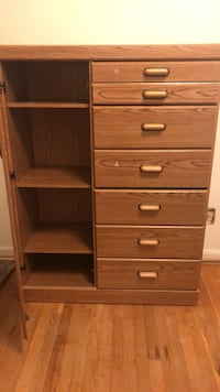 Dresser with 6 drawers and shelfs  Mc Lean, 22101