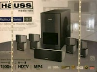 black and gray home theater system box Bakersfield, 93307