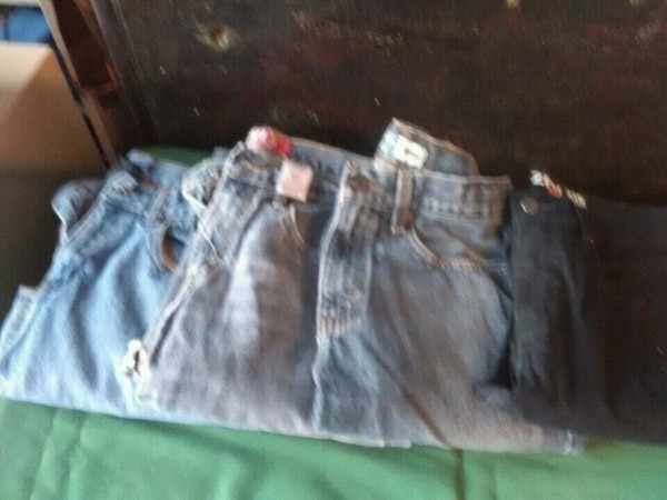 7 pair of boys jeans size 16
