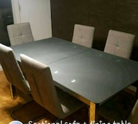 Dining table + sectional Toronto, M2K 2J8