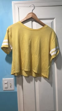 H&M Yellow Crop Top Burtonsville, 20866