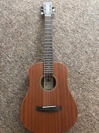 Small acoustic guitar