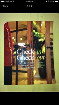 Check in check out book