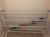 25 pair metal frame shoe rack Falls Church, 22042