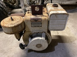 7HP Briggs and Stratton vertical shaft engine