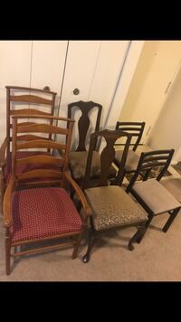 $20 each chair pick more save more check out my other listings on this page message me if you interested pick up in Gaithersburg md 20877 Gaithersburg, 20877