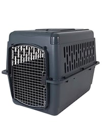 Large pet taxy plastic crate