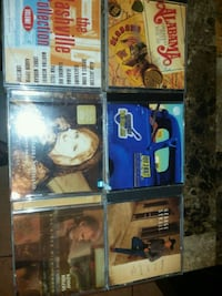 6 country music CDs including alabama, Kenny roger Missouri City, 77489