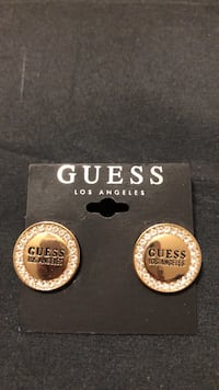 Guess Los Angeles Pave CZ Earrings Mississauga, L4Z 1H7