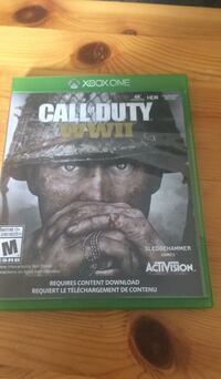 Call of Duty Advanced Warfare Xbox One game case Vancouver, V5P 2N8