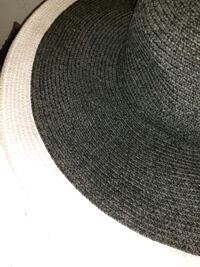 BLACK Straw wide Bremen HAT