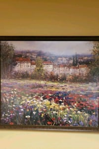 Painting 3'x3' with frame