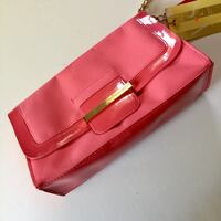 "NEW Victoria's Secret Pink & Gold Beauty Wristlet Bag (8.5"" x 5"") Palmdale, 93550"