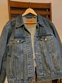 Levis blue denim button up jacket Frederick, 21701