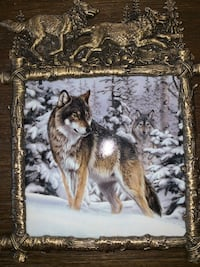 Limited edition Noble Guardian metal frame with ceramic insert made by Al Agnew Mc Lean, 22101