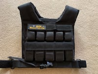 Weighted vest CrossFit Bethesda, 20814