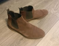 Brown Zara leather Shoe Toronto, M9M 1V9
