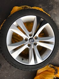 Hyundai Genesis Coupe tires and rims Cambridge, N3C 3S4