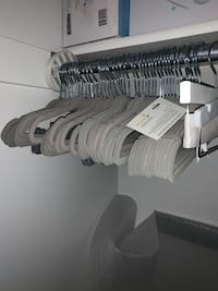 50 Baby size hangers most not used only a few used  Centerville, 84014