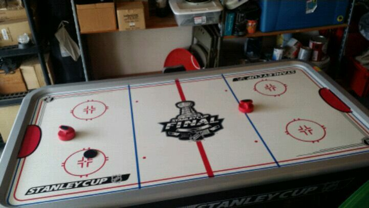 NHL Stanley Cup Air Hockey Table