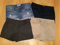 4 women's shorts for $10.00