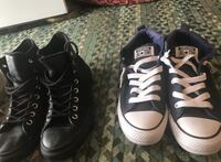 5 pairs of converse size 9 women's  Fort Worth, 76107