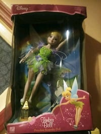 Barbie doll with green and pink dress Camden, 08105
