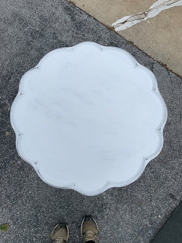 Beautiful Pie Crust Table chalk painted 59754f95-5f17-4fcf-b524-6fbfd43bfff8