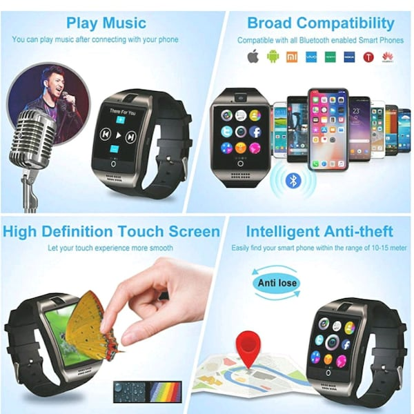 Smart watch black  1