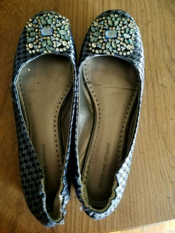 0e0cc6ef6 Used Blue Jeweled Flats for sale in Malverne - letgo