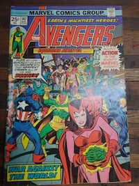 Marvel Comics The Avengers May 1976 #147 PURCELLVILLE