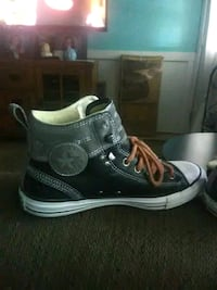 pair of black Converse All Star high-top sneakers Champaign