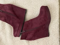 Ancle boots size 8.5  Text me only if you want to buy. Sacramento, 95833