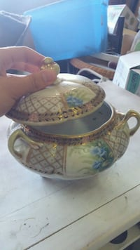 Hand painted Nippon  Shafter, 93263