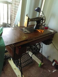 brown treadle sewing machine Annandale, 22003