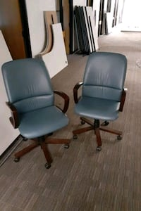 Office chairs 55.00 take them both and enjoy Raleigh