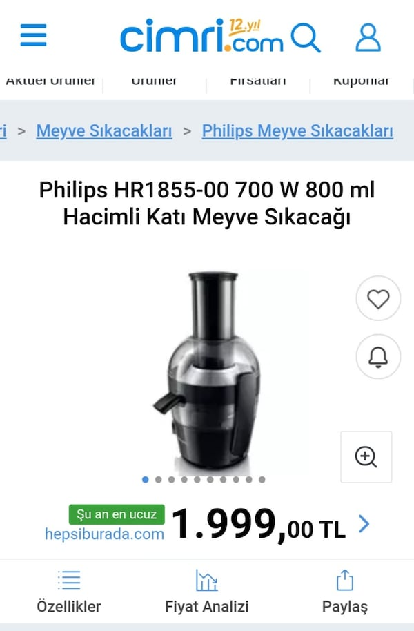 Philips Viva Collection Katı Meyve Sıkacağı daf5aa88-150e-47ae-91d2-a3c7bfba3912
