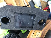 black car subwoofer box Archdale, 27263