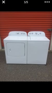 Whirlpool washer and electric dryer I deliver