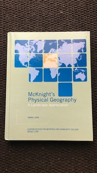 McKnight's physical geography textbook Ralston, 68127