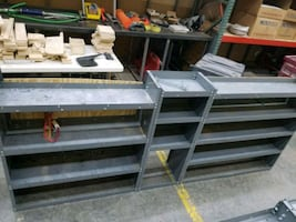 Full sized work van shelving - 6 sets