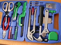 assorted color hand tools in case Owasso, 74055