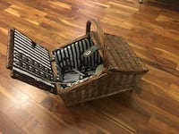 Stylish Picnic Basket LONDON