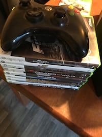 Xbox 360, 9 games and controller included