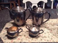 VINTAGE FB ROGERS SILERPLATED COFFE/TEA SET  NEWINGTON